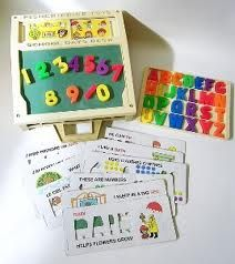 Fisher-Price School Desk - I used to play with this for hours. My favorite toy of all!!