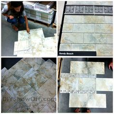 Daltile Sandy Beach tile- this is the tile for my new shower!!!