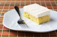 Tres leches cake for a Mexican-themed family night!