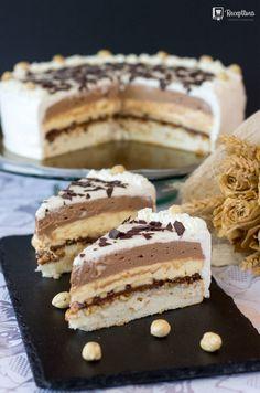 Torte Recepti, Kolaci I Torte, Baking Recipes, Cake Recipes, Dessert Recipes, Sweet Desserts, Sweet Recipes, Torta Recipe, Bosnian Recipes