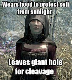 Video game logic...