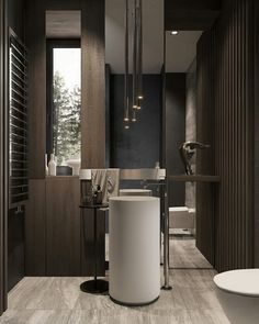 You can achieve High Style without a sky-high budget in almost any bathroom. It's the things that are little count. Steam Showers Bathroom, Bathroom Spa, Bathroom Layout, Bathroom Colors, Bathroom Ideas, Bathroom Mirrors, Washroom, Bathroom Cabinets, Glass Showers
