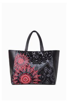 Desigual Bag Mini Mcbee Andromeda, Ruby Wine Handbag   DESIGUAL BAGS ... daee4fc9315