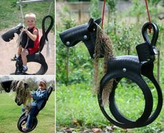 Horse Tire Swing DIY Is A Fun Project To Try   The WHOot