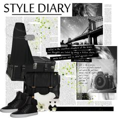 """""""City Diary"""" by methecoolhunter on Polyvore"""