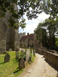 Time Travel. The Bishop's Palace in Maidstone, Kent, England by B Lowe. Built in the 14th century for the travelling Archbishops of Canterbury to rest.