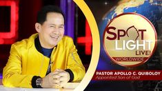 Watch another episode of Pastor Apollo C. Quiboloy's newest program, SPOTLIGHT. For your messages and queries, you can comment it down below so our Beloved P. Spiritual Enlightenment, Spirituality, Hanging Planter Boxes, Cute Dog Wallpaper, January 7, Kingdom Of Heaven, T Lights, Son Of God, Great Love
