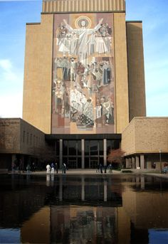 Touchdown Jesus, University of Notre Dame, Indiana