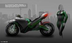 Vehicle Art.  Motorcycle
