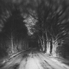 Local legends of phantom cars, ghosts, and murders provoke curiosity for the unknown. Road Drawing, Ghost And Ghouls, Local Legends, Back Road, Dark Photography, Haunted Places, Angst, Horror Art, Illustrations
