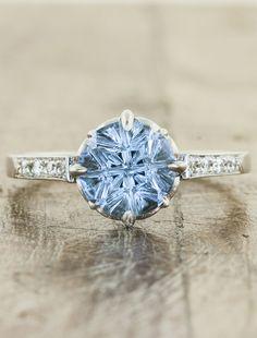Unique Vintage inspired engagement rings by Ken & Dana Design