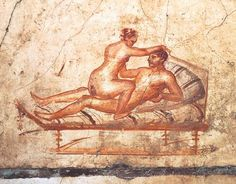 *POMPEII, ITALY ~ Italy, Campania Region, Pompei, Thermopolium in Via dell'Abbondanza UNESCO World Heritage Site, Archaeological Area