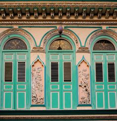 Another nice architecture design found on a pre-war building in Malacca