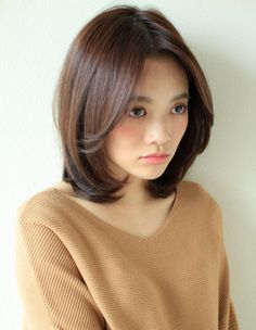 Asian Short Hair, Asian Hair, Girl Short Hair, Medium Hair Cuts, Short Hair Cuts, Medium Hair Styles, Short Hair Styles, Square Face Hairstyles, Cute Hairstyles For Short Hair