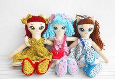 Je suis Mimi- Handmade cat dolls www.etsy.com/shop/jesuismimi #etsy #children #kids