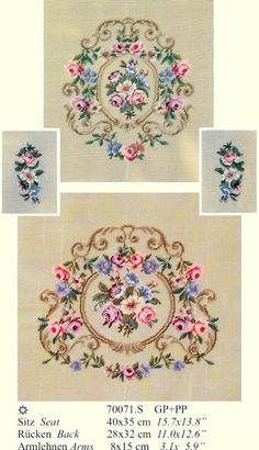 Gallery.ru / Martin Winkler - Martin Winkler - altaelena Embroidery Sampler, Ribbon Embroidery, Embroidery Stitches, Mini Cross Stitch, Cross Stitch Flowers, Cross Stitch Designs, Cross Stitch Patterns, Dollhouse Accessories, Miniature Crafts