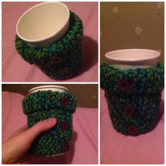 Knitted cup warmer! How To Look Pretty, Coffee Cups, Fancy, Mugs, How To Make, Coffee Mugs, Tumblers, Coffee Cup, Mug