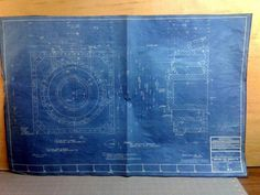 11 Firestone Steel Products Akron OH 1945 Blueprints Hydraulic Air Sphere Shell #FIRESTONESTEELPRODUCTS