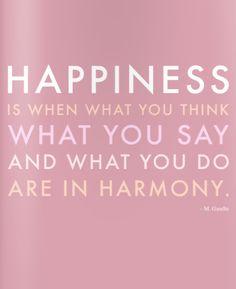 happiness...so true