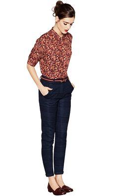 (shirt) ETON COLLEGE (pants) LORETTO (shoes) YUKA