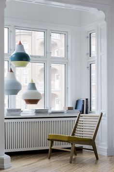 A trio Cirque Pendant Lamps by Louis Poulsen