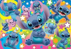 Amazon.com: 60-piece Children's Jigsaw Puzzle Lot of Stitch Child Puzzle: Toys & Games