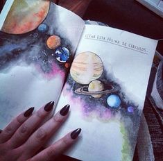 "orange-made-the-love: ""•i have galaxies in me• """