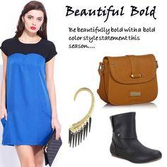 Beautiful Bold > http://faborskip.com/post/105604859280/beautiful-bold-be-beautifully-bold-with-a-bold   Be beautifully bold with a bold color style statement this season.