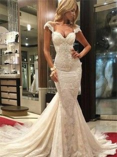 Cheap Nice Sexy Wedding Dresses, Sleeveless Wedding Dresses, Wedding Dresses Lace, Wedding Dresses Mermaid Sleeveless Wedding Dress Wedding Dress Sexy Mermaid Wedding Dress Wedding Dress For Cheap V Neck Wedding Dress, Sweetheart Wedding Dress, Applique Wedding Dress, Lace Mermaid Wedding Dress, Mermaid Dresses, Dress Lace, Tulle Lace, Mermaid Sweetheart, Lace Applique
