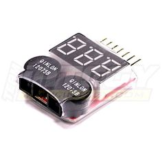 Integy RC Hobby C23212 LiPo Voltage Checker  Warning Buzzer >>> Click image for more details.