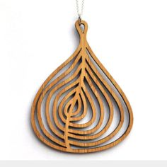 Daphne Olive Jewelry - Bamboo Fig necklace
