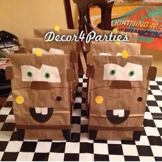 Cars Themed Tow Mater inspired Favor Party or by Decor4Parties, $50.00
