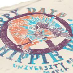Alpha Delta Pi - Arkansas ADPi - Hippie Daze - Sorority Tank - Sorority t shirts - Razorbacks - Check out b-unlimited.com!