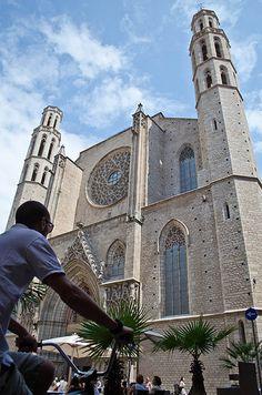 Santa Maria del Mar, Barcelona Catalonia