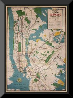World map gift wrapping roll 24 x 15 birthday everyday gift wrap vintage nyc subway map new york subwaynyc subwaywrapping giftswrapping papersvintage gumiabroncs Image collections