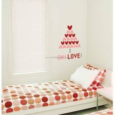 R Oh Love Tree Wall Decals