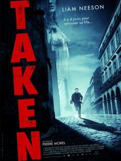 """""""Taken."""" First time seeing this movie! Entertaining and kind of silly - so many coincidences. I still can't take Liam Neeson seriously as a BAMF, though!"""