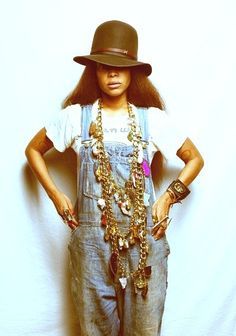 AP Fashion: Overalls back at it again? – AFROPUNK