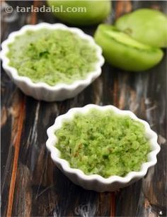 Green tomatoes are blended with spring onions and garlic to provide the necessary flavours to make this healthy dip that is sure to be a hit when you're entertaining. The addition of coriander adds further to its taste while providing vitamins A and C. Enjoy this salsa with Baked Tortilla Chips or colourful vegetable crudités.