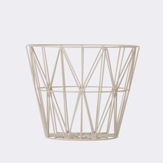 A multifunctional wire basket to hold everything under the sun is the perfect compliment to your eclectic décor.
