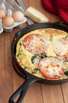 Frittata al forno con zucchine e pomodorini: la ricetta