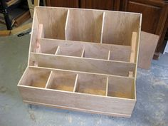 Scrap Wood Storage Bin