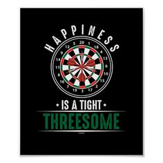 Our Happiness Is A Tight Threesome is the perfect artwork and design for darts player and lover, also a great gift idea for a birthday or Christmas present for Men or Women. Wear it to the Pub. Dart Shirts, Christmas Presents For Men, Pilsner Beer, Dart Board, Corner Designs, Darts, Custom Posters, Phone Wallpapers, Diana