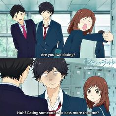 Ao Haru Ride...This part almost killed me. The face of the brother, Futaba and Kou are the best!!!