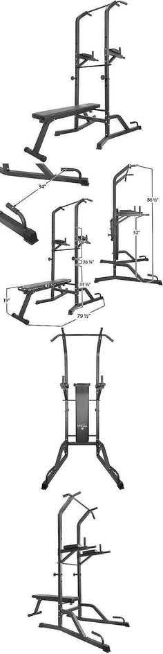 Home Gyms 158923: Titan Power Tower Bench Workout Station Pull Up Dip Station Home Gym Strong -> BUY IT NOW ONLY: $165 on eBay!