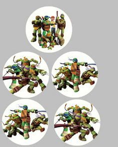 Several FREE Teenage Mutant Ninja Turtle Birthday Party Printables | MySunWillShine.com