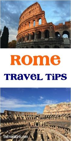 19 Top Rome Italy Travel Tips! ~ from TheFrugalGirls.com ~ Insider Tips and Tricks for your Rome vacation, and what sights you can't afford to miss!