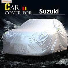 Buildreamen2 Car Cover Sun Snow Rain Scratch Resistant Cover Waterproof For Suzuki S-Cross SX4 Grand Vitara Esteem Reno Verona