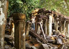 Ruins of the Beng Mealea temple. Siem Reap Province. Cambodia.  https://victortravelblog.com/2013/11/19/temples-of-cambodia-angkor-wat-or-beng-mealea/