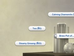 Plain Tea by plasticbox at Mod The Sims via Sims 4 Updates